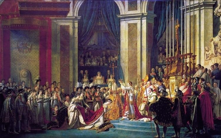Coronation Napoleon Jacques-Lou - candydhami | ello