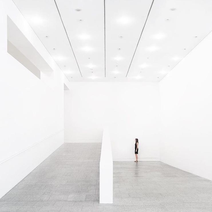 museums beautiful art exhibit.  - minimalismlife | ello