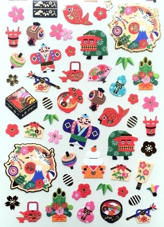 Happy Year Stickers newyear Jap - futoshijapanese | ello
