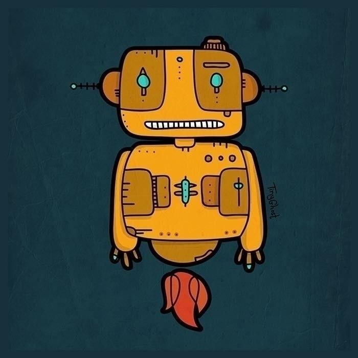 'Ethnic Robot׳ robot tinyghost  - tinyghost   ello