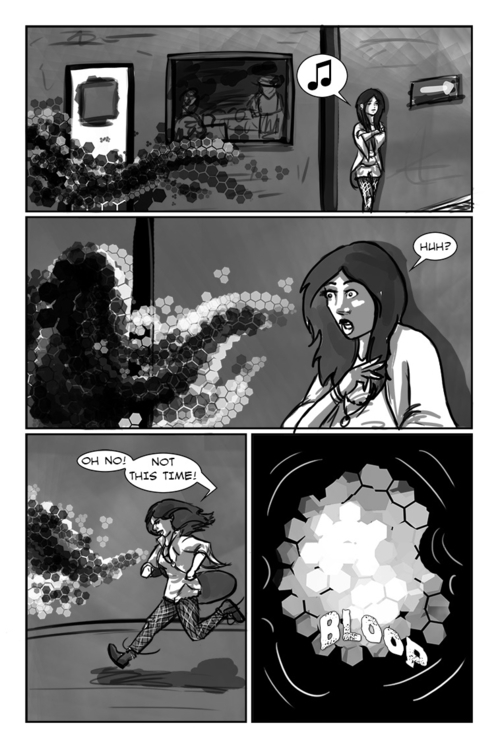 1 hour comic page challenge. sp - artofdawn | ello
