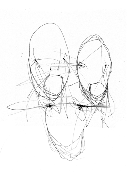 Face 002 - pen paper art drawin - benoit-vial | ello