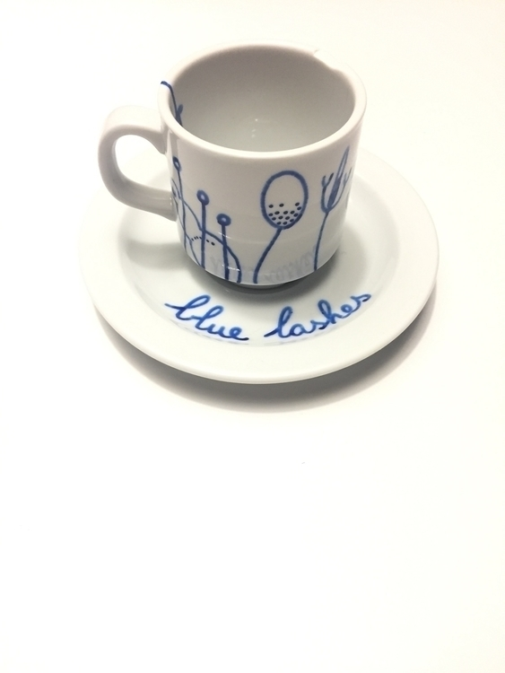 coffee cup called Sonja, illust - pablohannon | ello