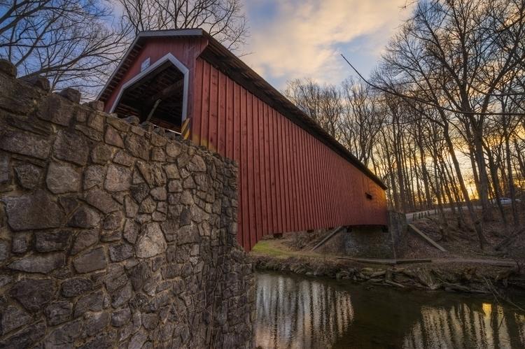 *Cover Mill Covered Bridge Lanc - jeffmoreau | ello