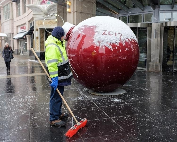 snow 2017 Boston, MA streetphot - antooly | ello