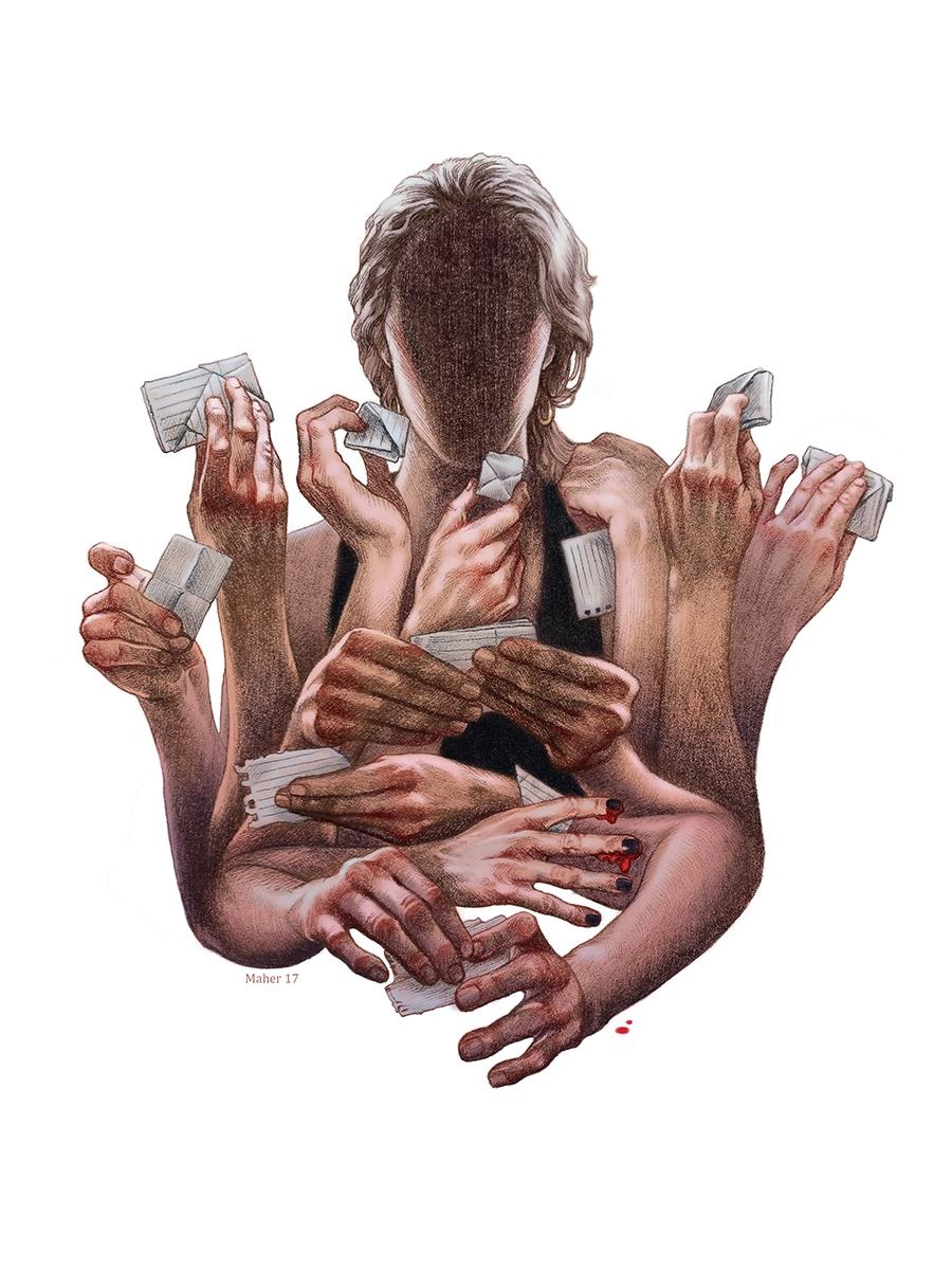 "Craig Maher - ""Secrets"" 9x12 in - craigmaher   ello"