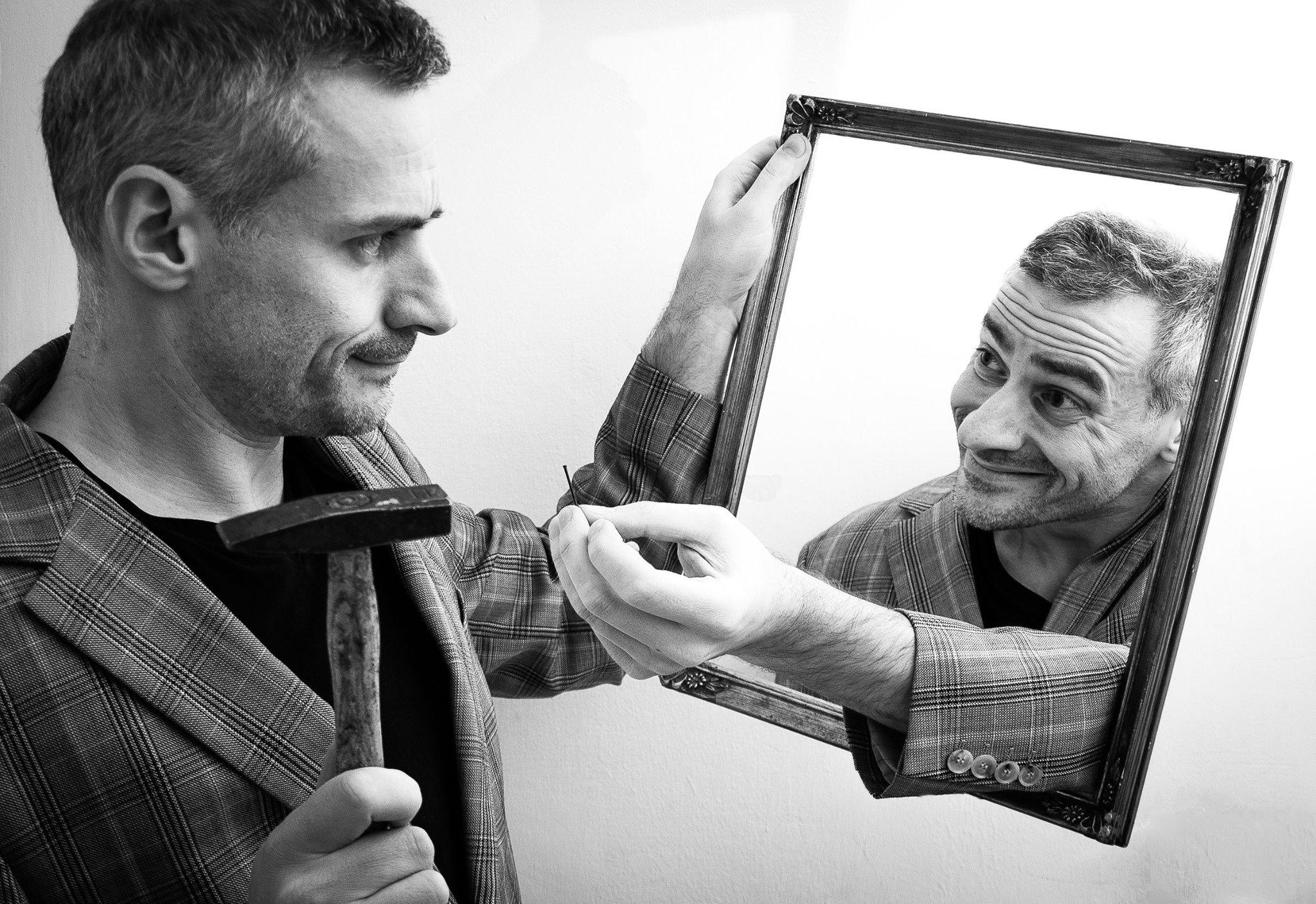 **February Challenge: Framed**  - selfportraiture | ello