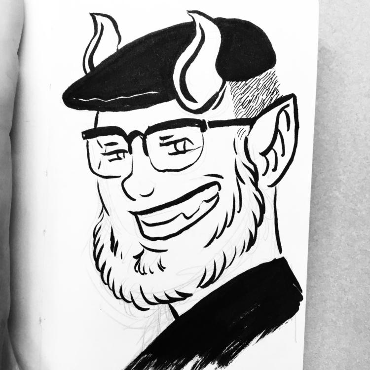sketchbook portrait. 💀✨ incubus - royallyeric   ello