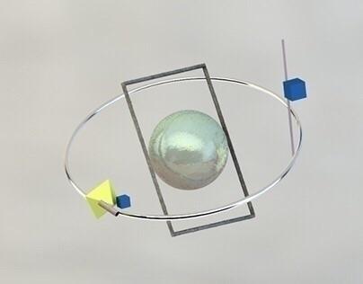 Render maya#3d#abstract#shapes - kirstyfabiyi | ello