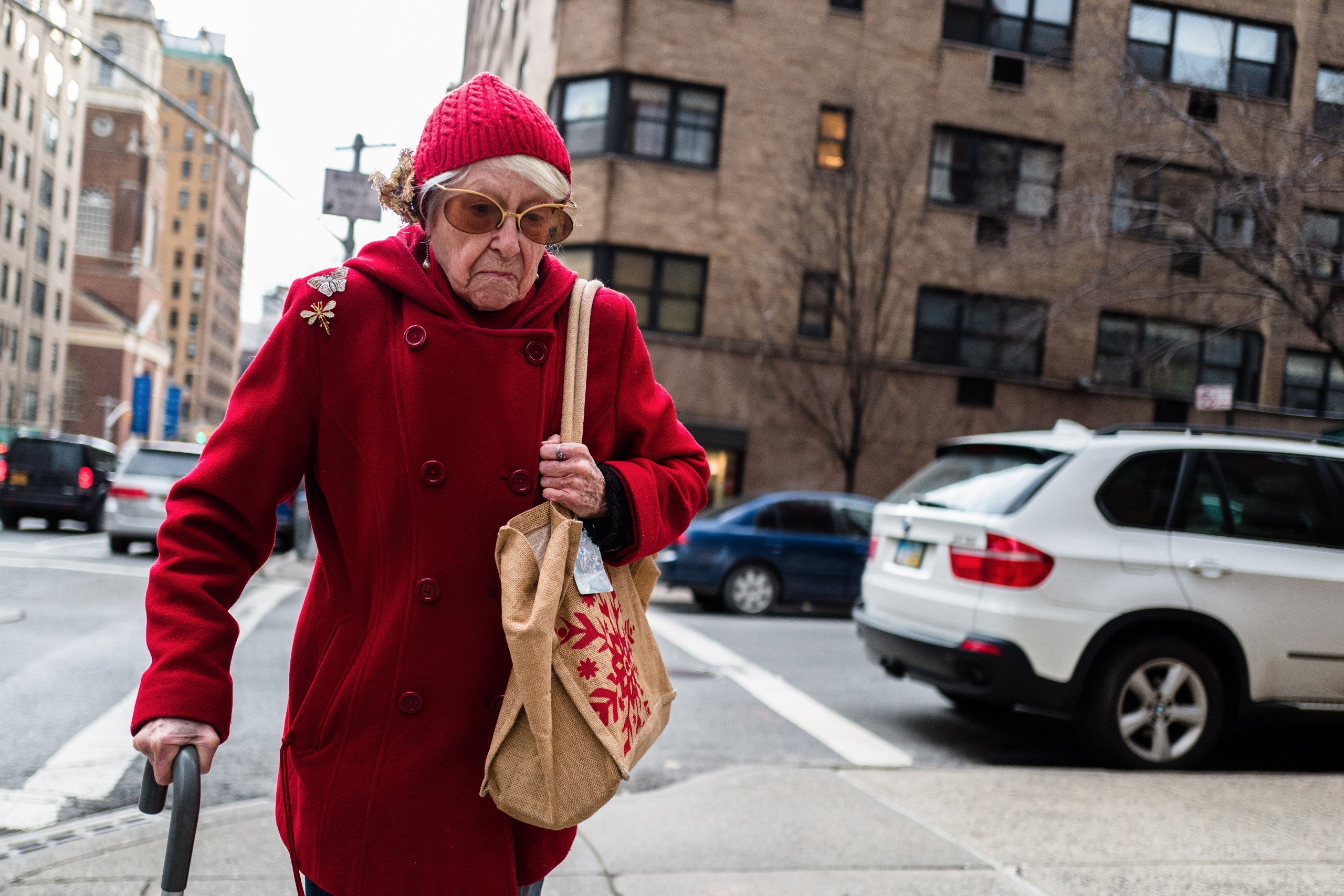 Granny Crossing Upper East Side - giseleduprez | ello