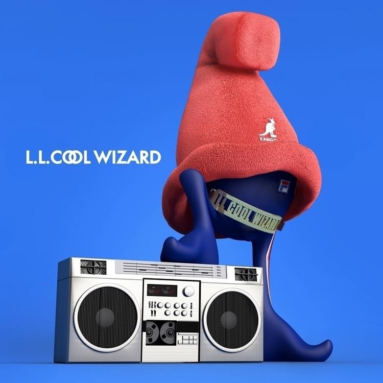Cheech Wizard Land Hip Hop. LL  - elroyklee | ello