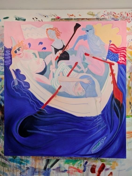 Reassess, Resist Oil/canvas, 60 - markbarry | ello