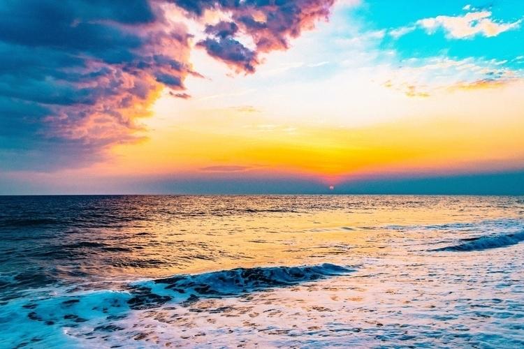 Monterrico Sunset summer beach  - solipsista   ello