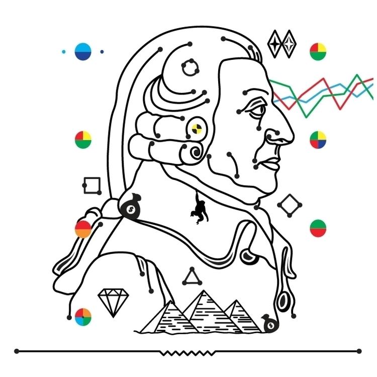 Adam Smith vectorillustration p - jaumea | ello