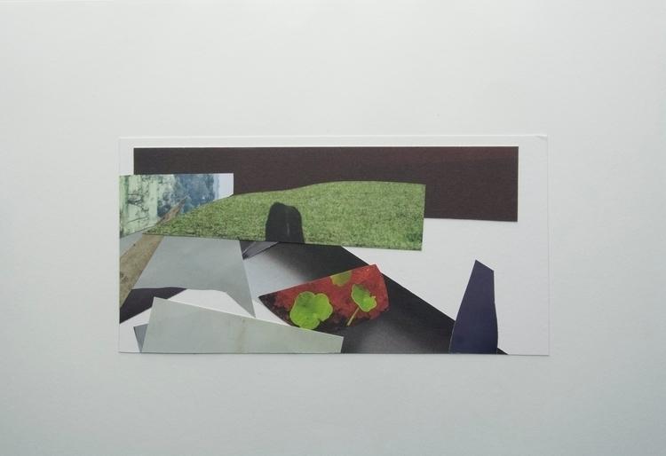 Frisbee Tree, Collage art abstr - wrjenkinson | ello
