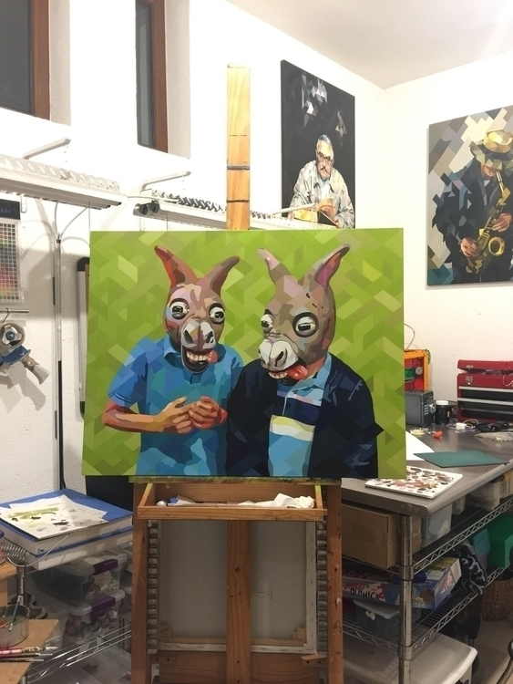happy final donkeys!!! artofthe - yunuene | ello