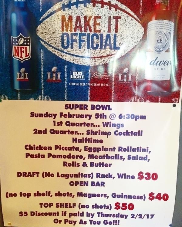 Pub Grill super bowl Sunday Que - erikaaaomg | ello