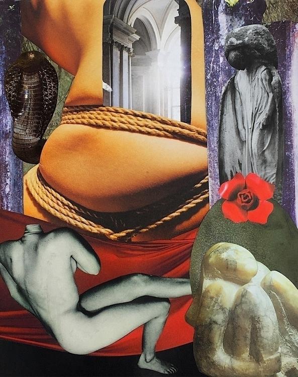 Art Journal 📓 Wakes Dream Colla - arcanememory | ello