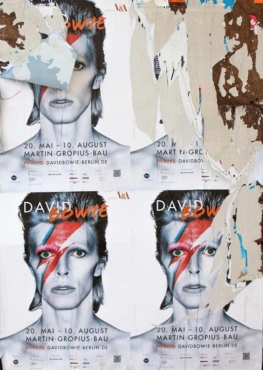 Köpenicker Straße, Bowie Poster - sandromartini | ello