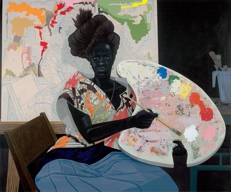 Kerry James Marshall Untitled,  - blackartmatters | ello