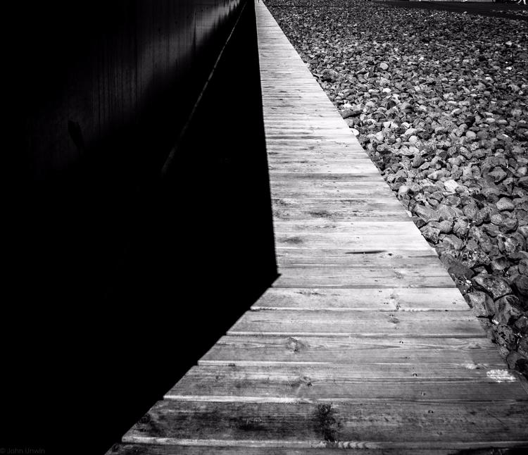 Angular Wood walkway Reykjavík, - junwin | ello