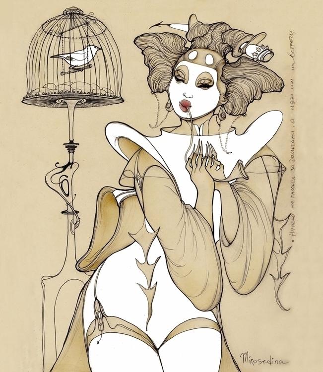 Geisha & Nightingale emotio - mirosedina | ello