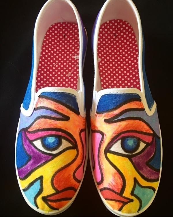 Shoe/Art - Mixed Media. display - marconicalindas | ello