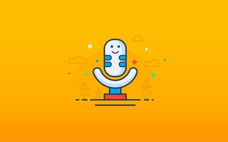 app design icons voice micro mi - heymikel   ello