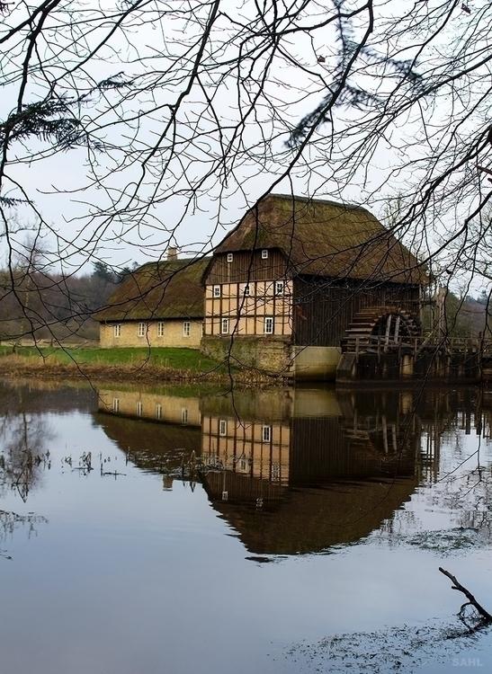 Nørholm Vandmølle Watermill Sah - jan_sahl | ello