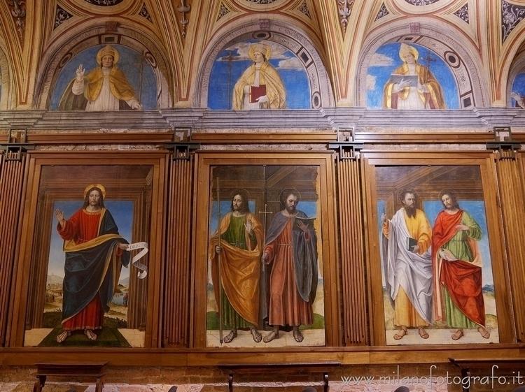 Milan (#Italy): Frescoes Bergog - milanofotografo | ello