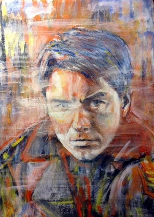 Portrait John Barrowman Captain - paolobeneforti | ello