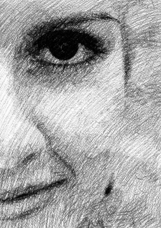 bw portrait teardrop studio fla - anhilov | ello