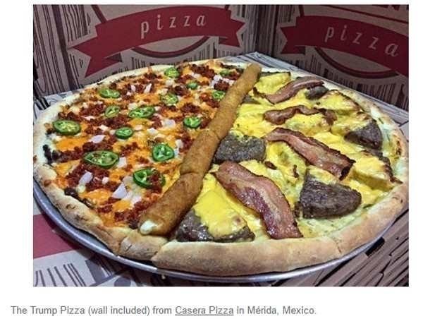 Trump pizza - mklopez | ello