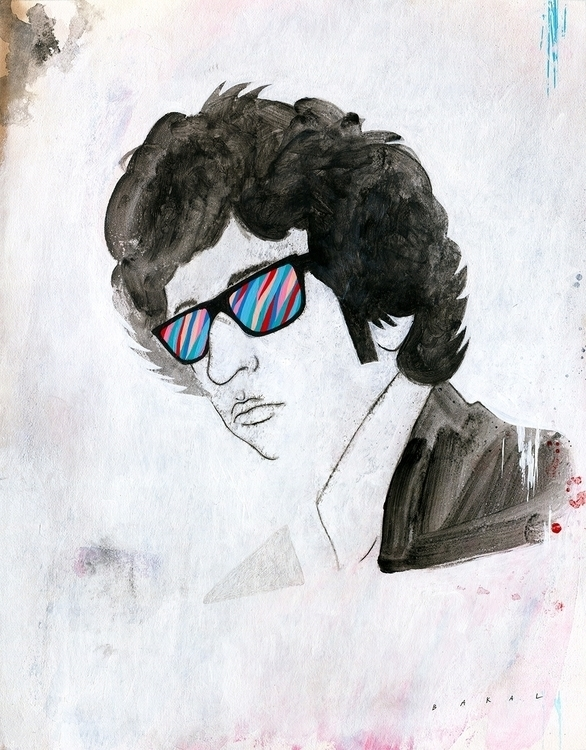Portrait Bob Dylan | 11 14 Acry - scottbakal | ello