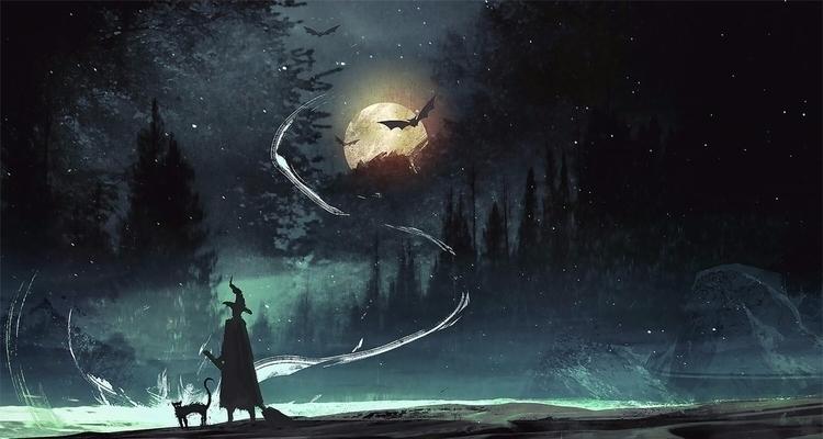 Witches Brew DREW ROSIER Profes - fantoche | ello