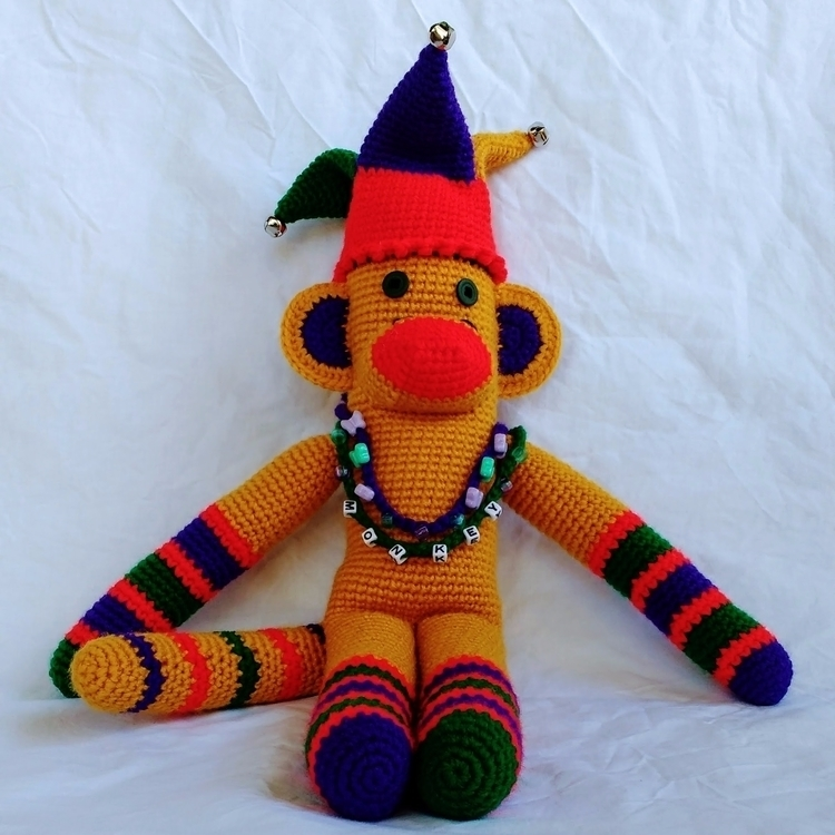 Happy MonkeyMonday! monkey savo - miniaturemonkeycreations | ello