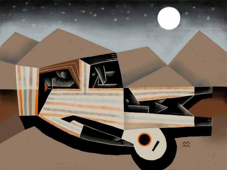 80/100 Sleeping gypsies MiriamD - miriamdraws | ello