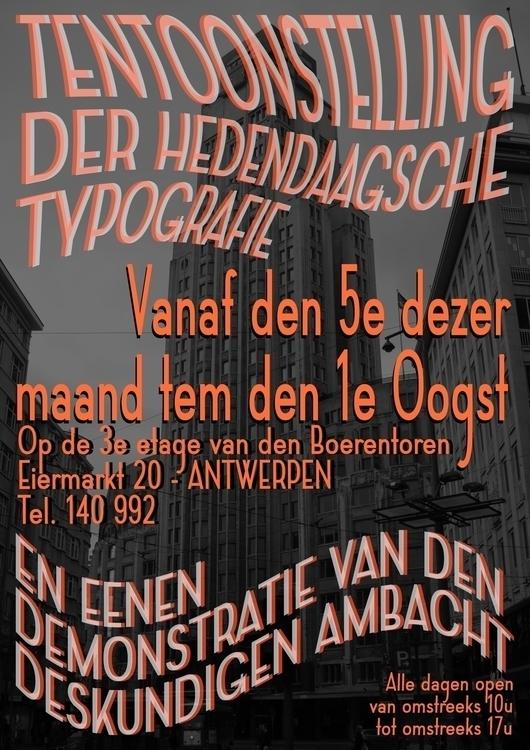 poster graphicdesign design typ - jemedias | ello