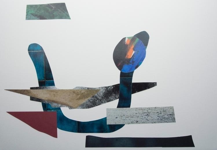 Tile Smile, Collage art abstrac - wrjenkinson   ello