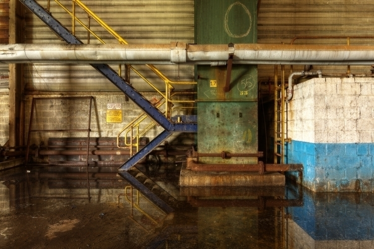 Decaperie Abandoned factory Bel - miso-photography | ello