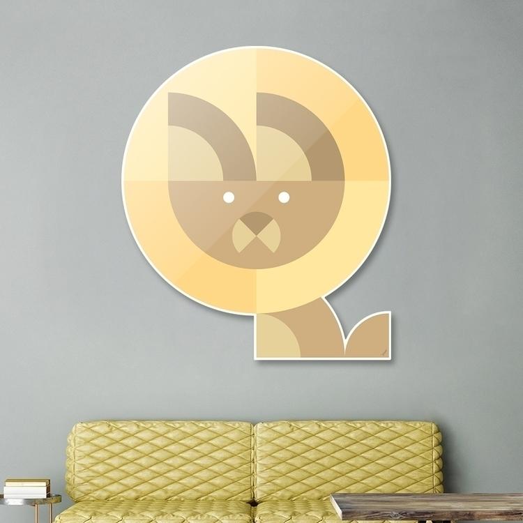 Quadrant Lion Animals Series Di - carterson | ello