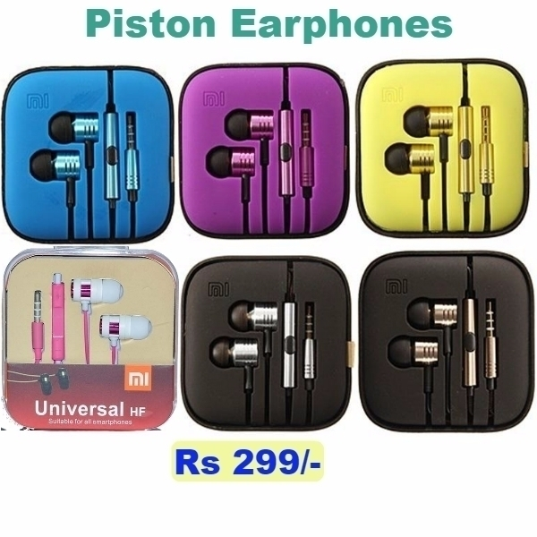Amazing Mi Piston earphones @latestone