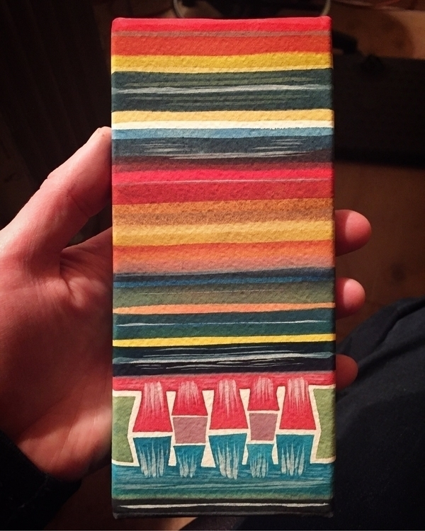 Deluge, watercolor paper wrappe - mikebiskup | ello