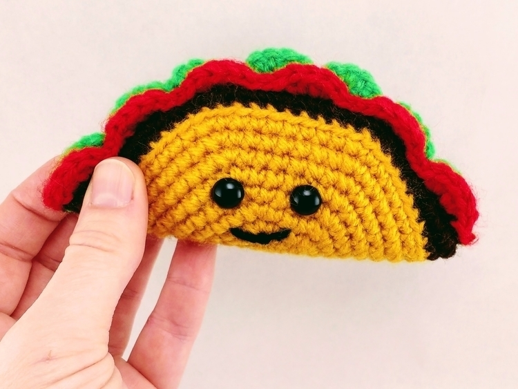 Happy TacoTuesday! Enjoy delici - miniaturemonkeycreations | ello