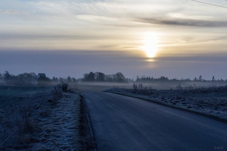 Sunrise Randboel Solopgang Rand - jan_sahl | ello