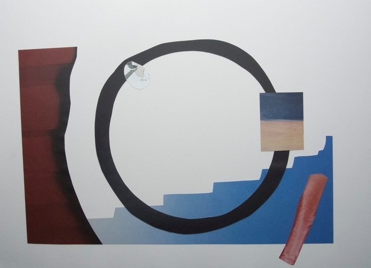 Steps, Collage art abstract lan - wrjenkinson | ello