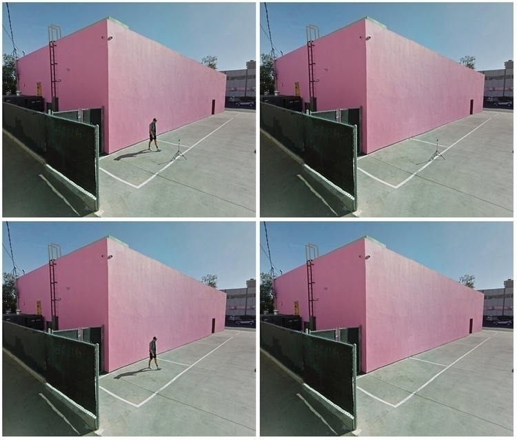 Melrose Pink Wall. photography  - dispel | ello
