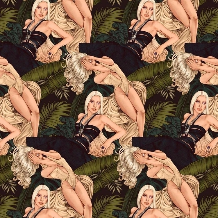 Amazing Lady Gaga illustration  - artrookie | ello