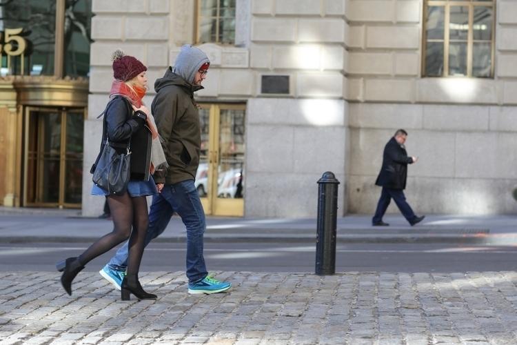 Bull** couple walking Charging  - kevinrubin | ello