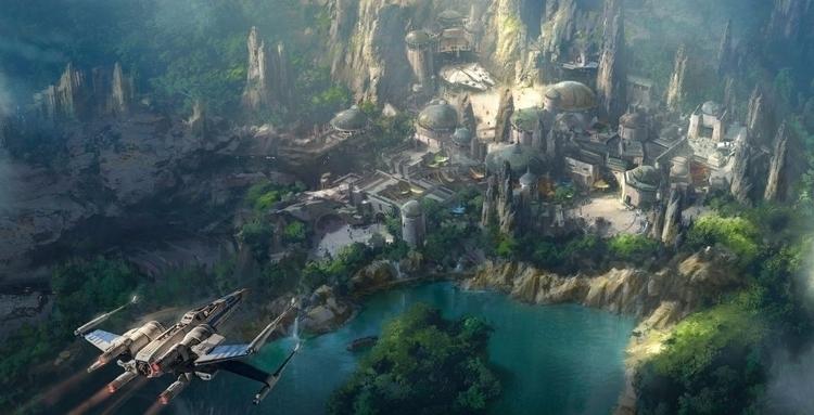 Disney Parks unwrap Star Wars l - bonniegrrl | ello